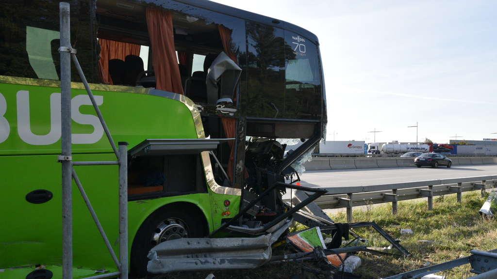 Flixbus Unfall A5