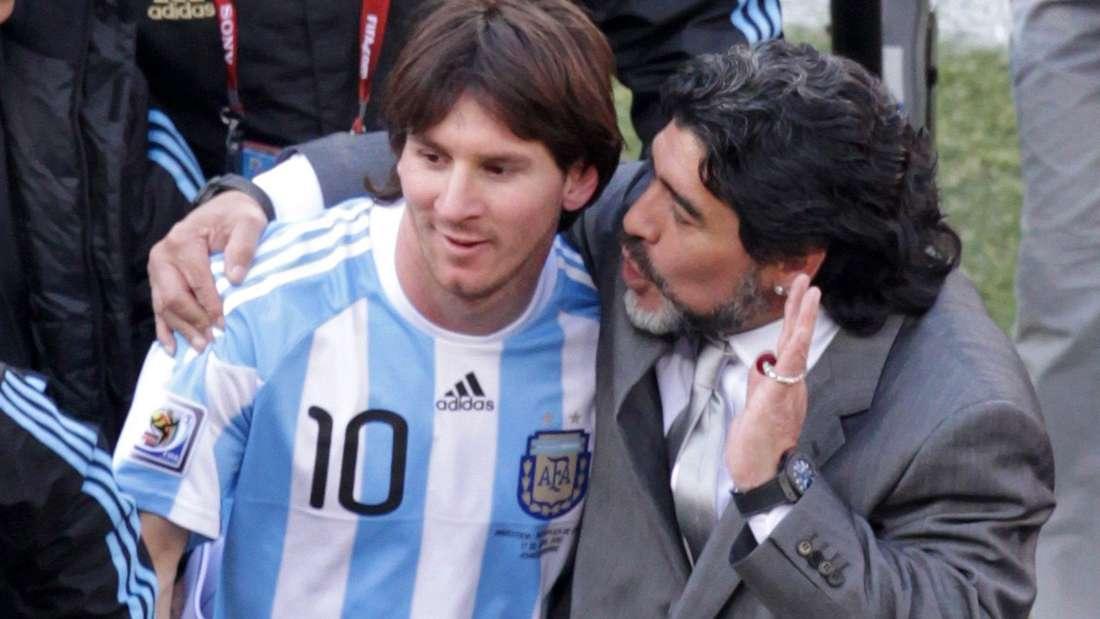 WM 2010 - Argentinien - Korea