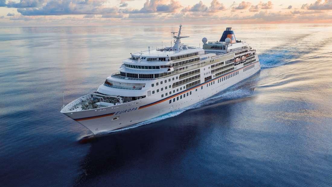 «Europa 2» und «Europa» bleiben die Spitzen-Kreuzfahrtschiffe.
