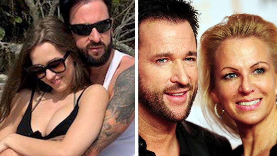 Ihre große Liebe demonstrieren Michael Wendler (46) und Laura (18) - vor den Augen seiner Ex-Frau Claudia.