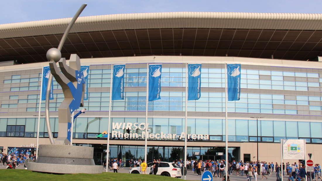 Die Wirsol Rhein-Neckar-Arena in Sinsheim.
