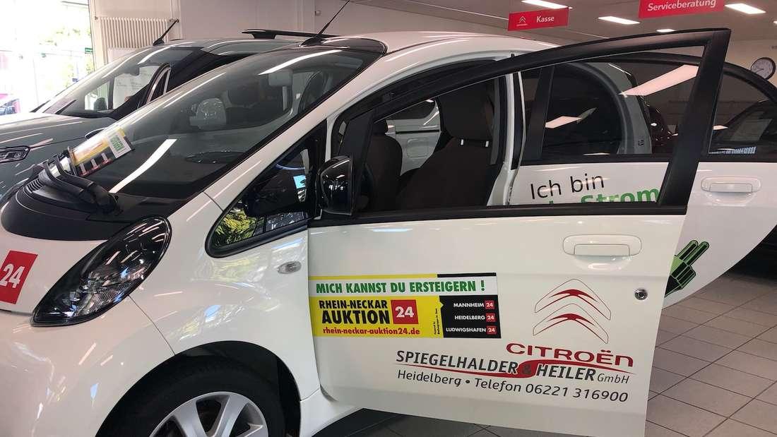 Jetzt mitbieten und den Citroën C-Zero ersteigern!