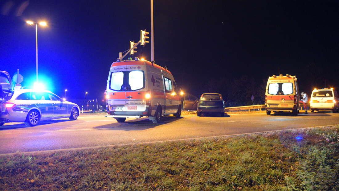 Unfall in der Speyerer Straße.