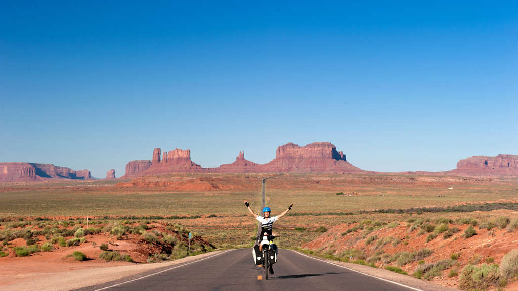 Pedelec Adventures, Susanne Brüsch, Monument Valley,