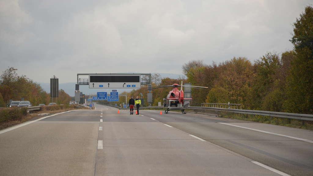Stau A5 Richtung Heidelberg