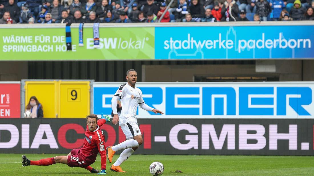 SC Paderborn 07 - SV Sandhausen