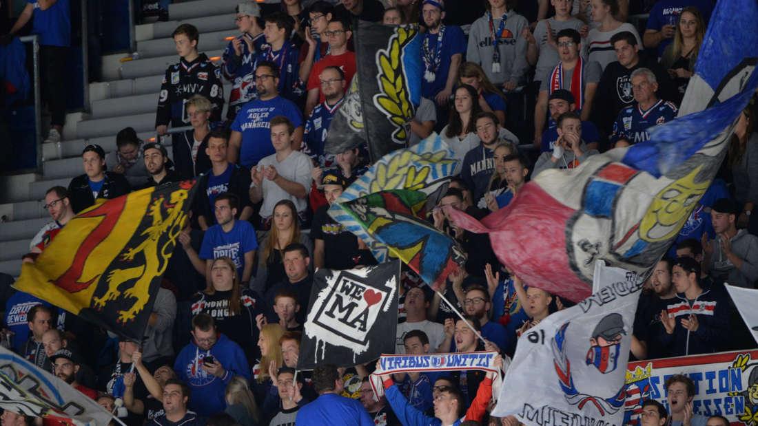 DEL - 15. Spieltag: Adler Mannheim - Straubing Tigers 6:1