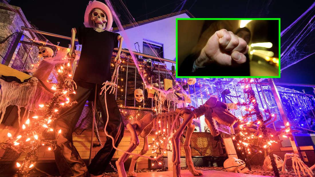 In der Halloween-Nacht muss die Polizei zu 50 Fällen ausrücken. (Symbolfoto)