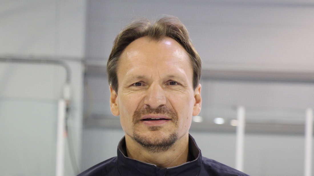Pavel Gross ist seit Sommer 2018 Trainer der Adler Mannheim.