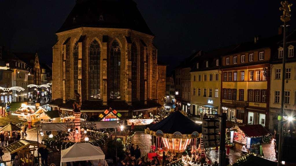 Weihnachtsmarkt Wie Lange Offen.Weihnachtsmarkt Heidelberg Und Umgebung Infos öffnungszeiten