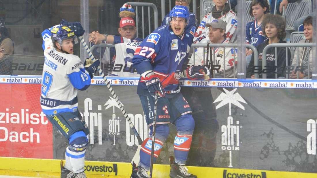 Die Adler haben gegen den ERC Ingolstadt eine Drei-Tore-Führung aus der Hand gegeben. (Archivfoto)