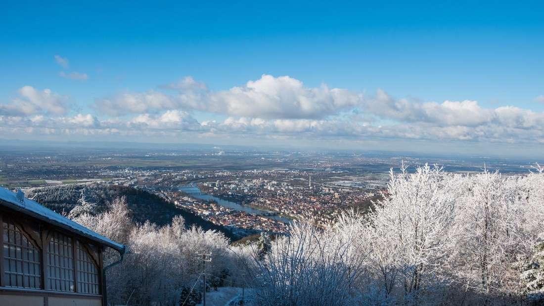 Schnee und Eis auf dem Königstuhl (Archivfoto)