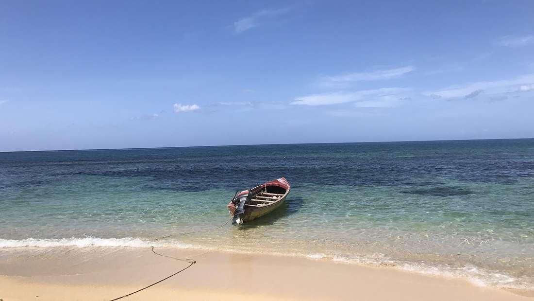 Einmal allein am Strand - welch erholsame Vorstellung!
