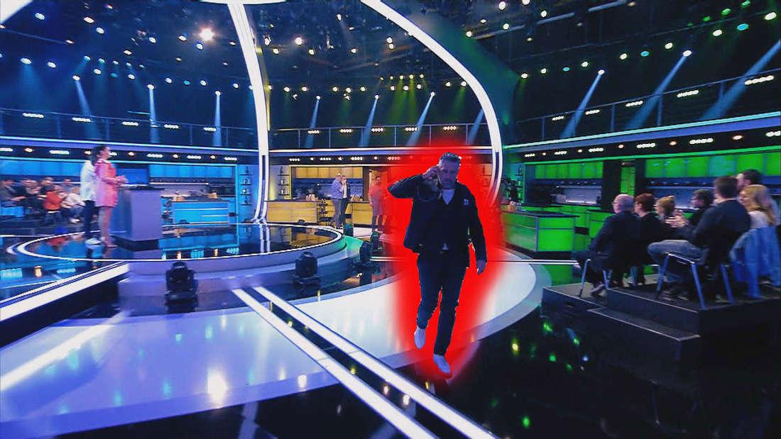 """Emotionen beim """"The Taste""""-Finale:Ist Roland Trettls Traum vom Sieg bei der Sat.1-Koch-Showgeplatzt? Wütend verlässt der Spitzenkoch vor laufender Kamera das Studio."""