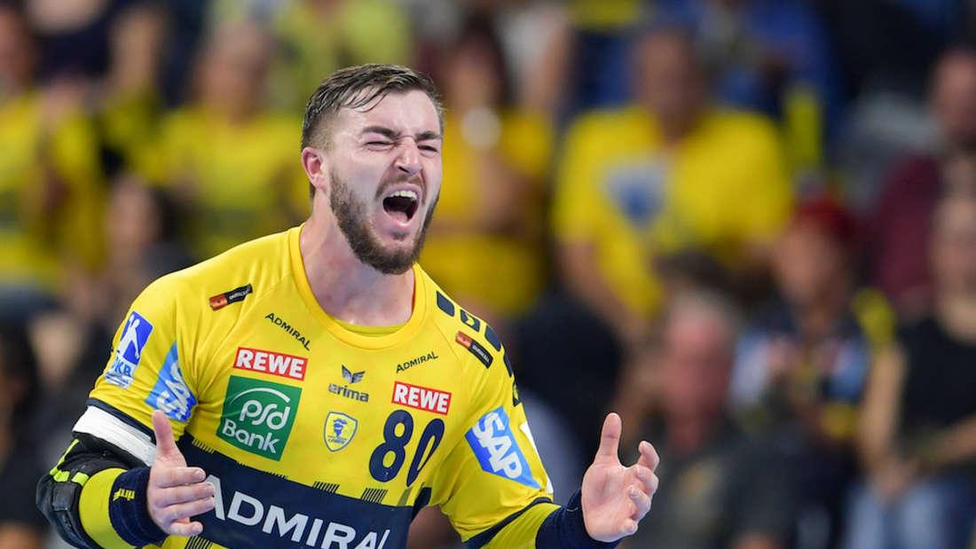 Jannik Kohlbacher verspricht gegen den TSV GWD Minden 100 Prozent Einsatz. (Archivbild)