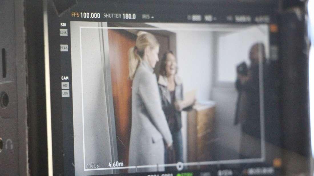 """Ludwigshafen: Set-Besuch bei """"Tatort: Leonessa"""" mit Ulrike Folkerts als Lena Odenthal"""