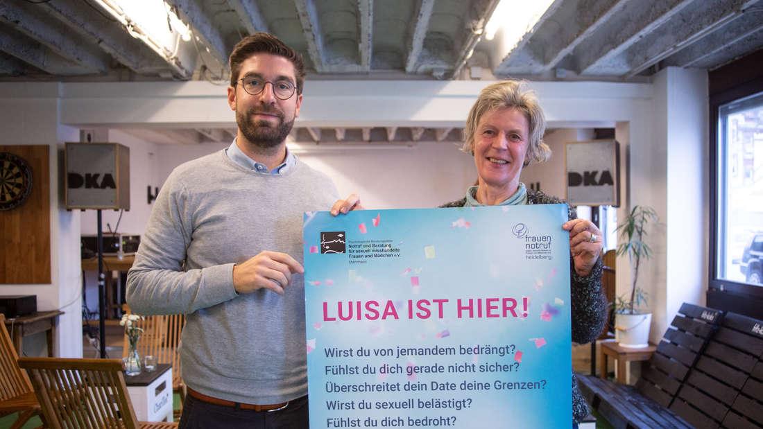"Das Codewort ""Ist Luisa hier?"" soll Frauen in Notsituationen Hilfe bringen."