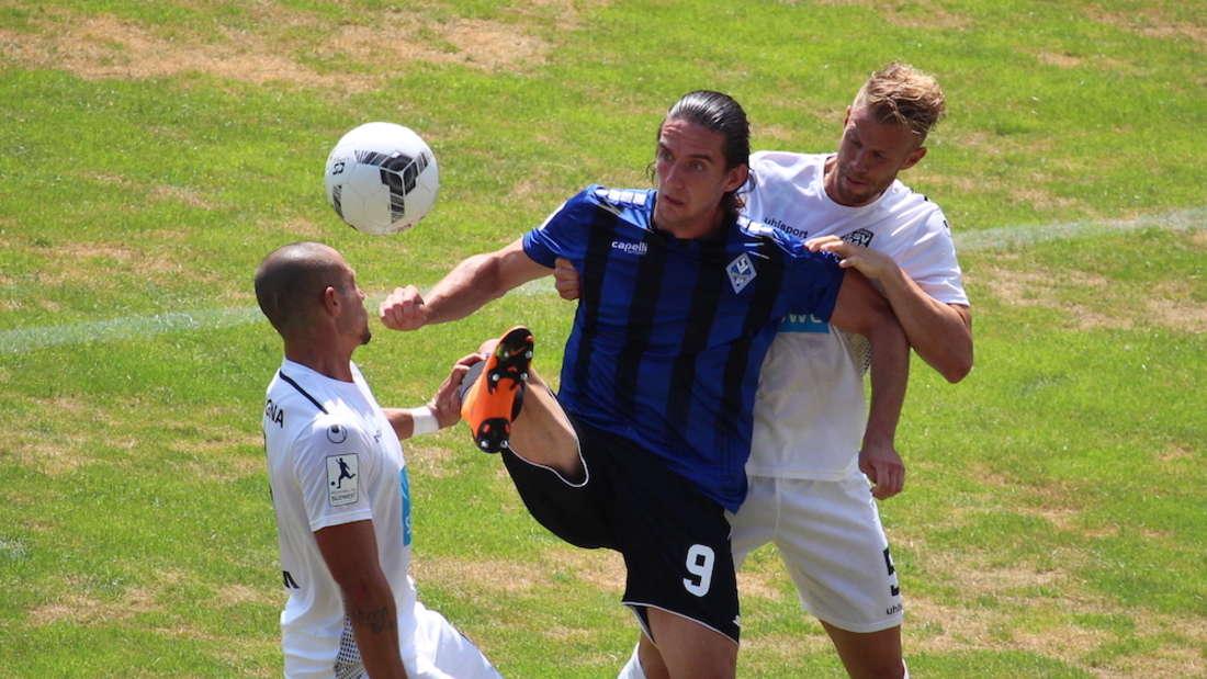 Valmir Sulejmani trifft gegen den SSV Ulm zum 1:0. (Archivfoto)