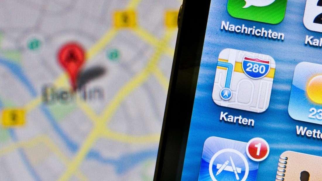 Google Maps zeigt derzeit unpassende Symbole für bestimmte Hotspots an.