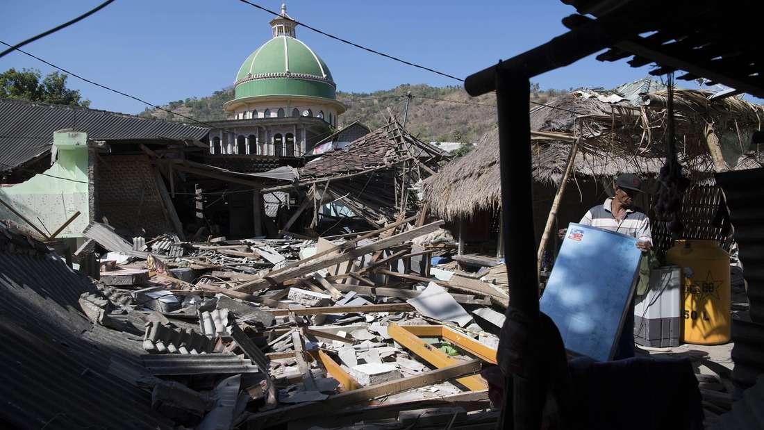 Bereits im August dieses Jahres wurde Lombok von starken Erdbeben erschüttert.