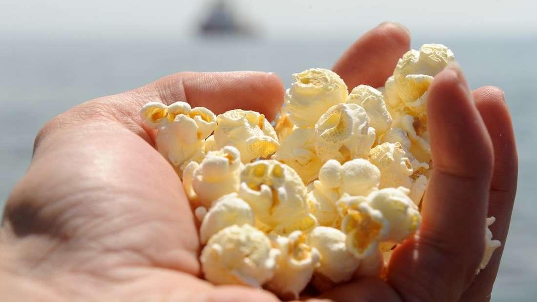 Popcorn am Strand - kann man machen. Aber was ist Strand aus Popcorn?