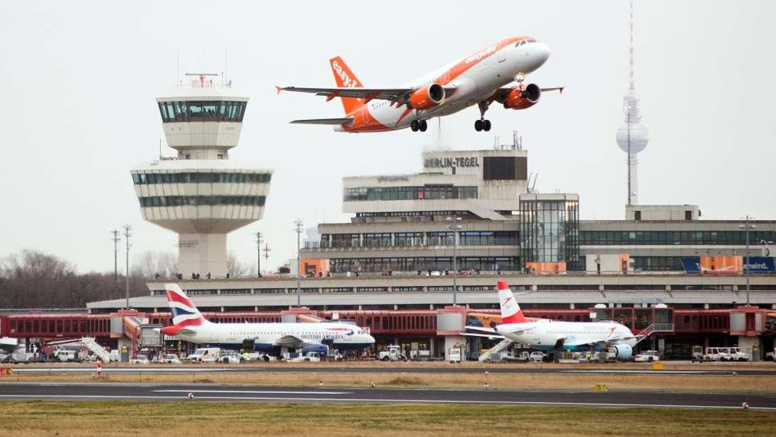 Mit dem Brexit könnte es zu Zusammenbrüchen des Flugverkehrs zwischen EU und Vereinigtem Königreich kommen.