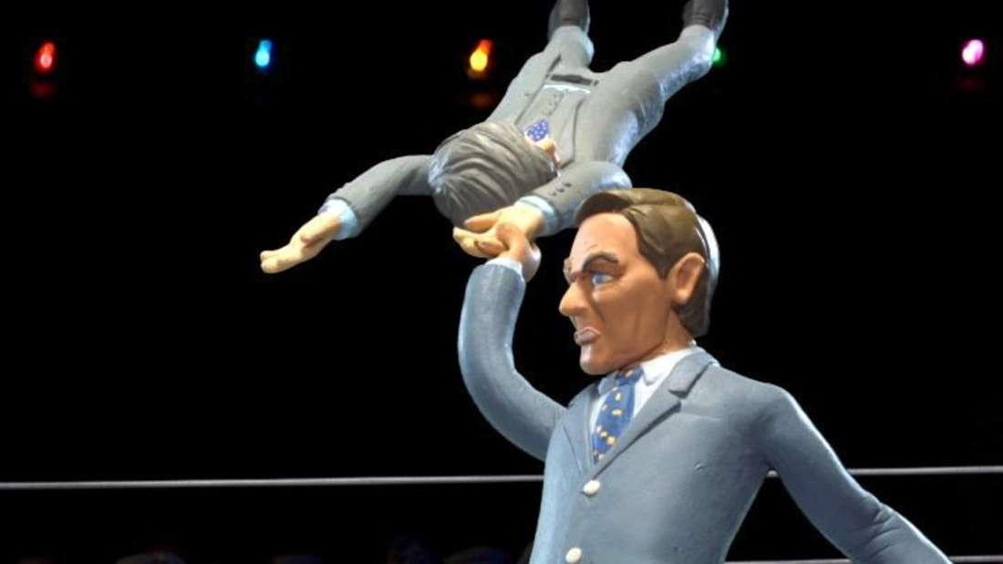 Celebrity Deathmatch: MTV zeigt Promi-Duell mit Knetpuppen
