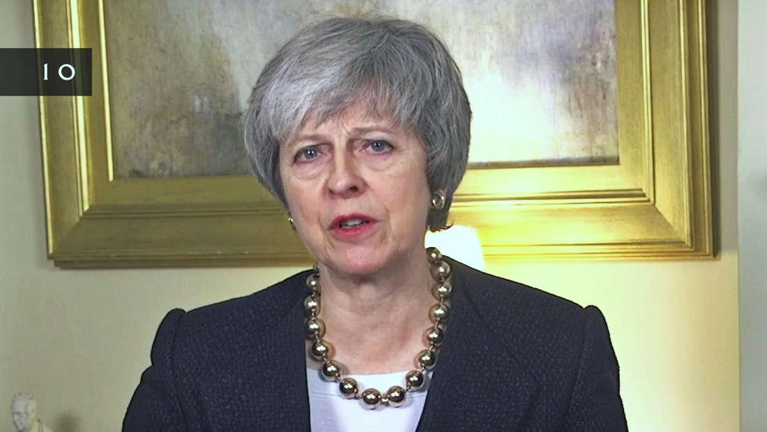 Bei ihrer Neujahrsansprache warnte Theresa May vor einem ungeordneten Brexit.