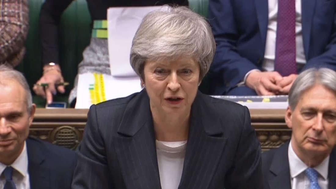 Debatte über das Brexit-Abkommen