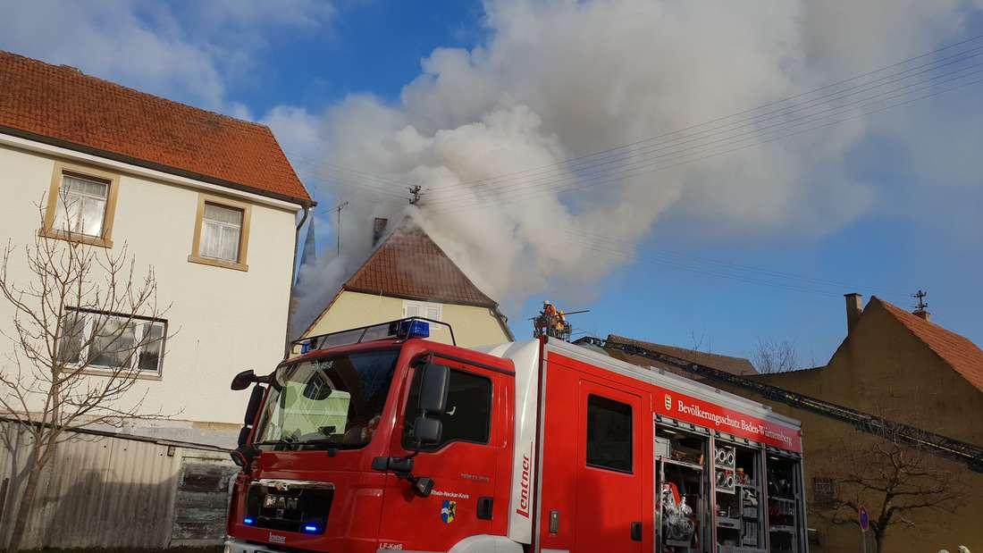 Feuerwehreinsatz in Waldangelloch.