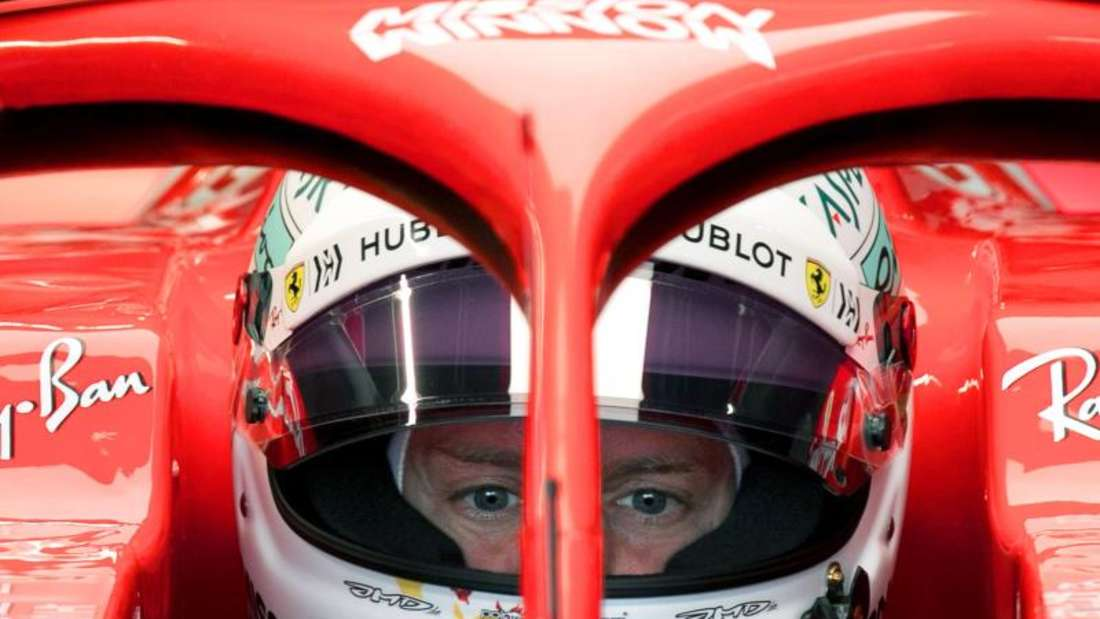 Sebastian Vettels neuer Ferrari wird am 15. Februar vorgestellt. Foto: Ng Han Guan/AP