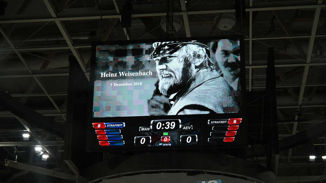DEL - 27. Spieltag: Adler Mannheim gegen Augsburger Panther in SAP Arena.