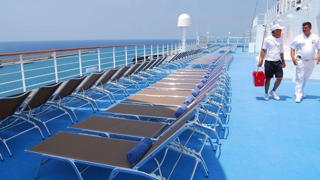 Was kostet der Urlaub auf dem Kreuzfahrtschiff?