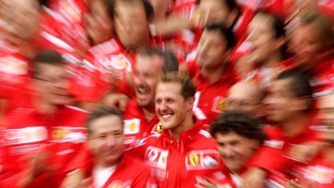 Michael Schumacher fuhr von 1996 bis 2006 für Ferrari. Foto: Roland Weihrauch