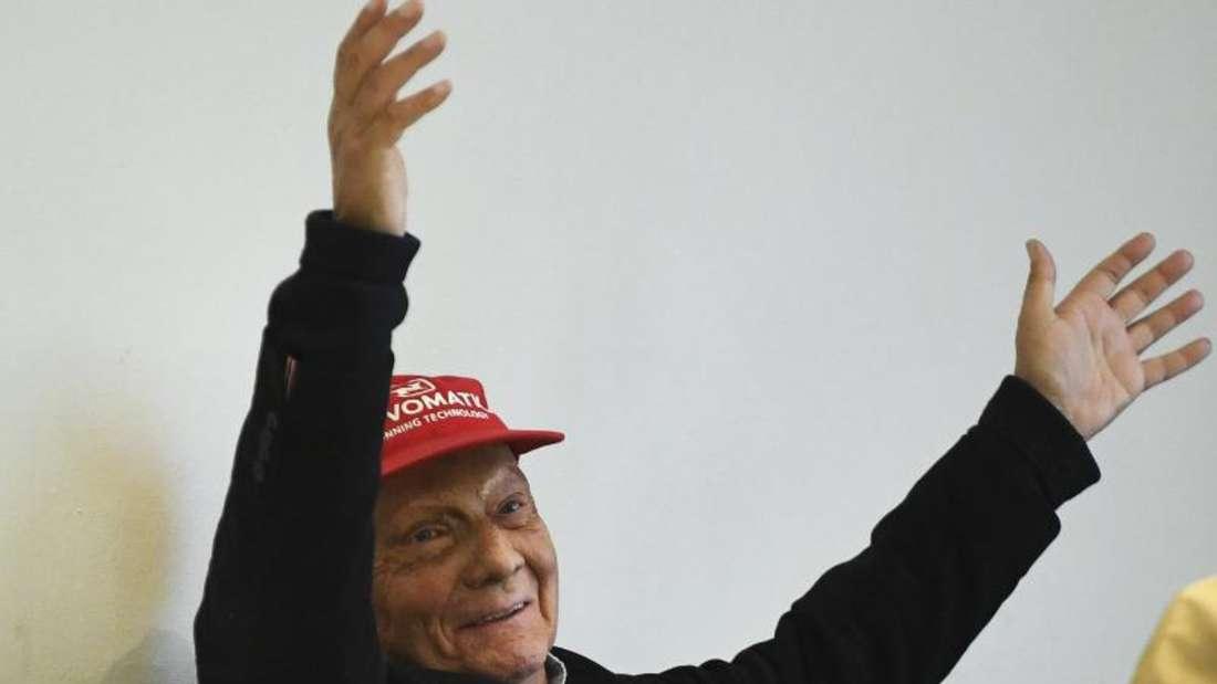 Auf dem Weg der Besserung: Niki Lauda. Foto: Robert Jaeger/APA