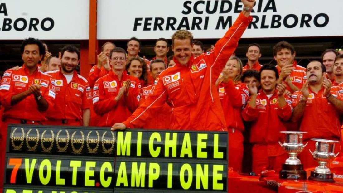 Michael Schumacher wurde sieben Mal Weltmeister in der Formel 1. Foto: Oliver Weiken