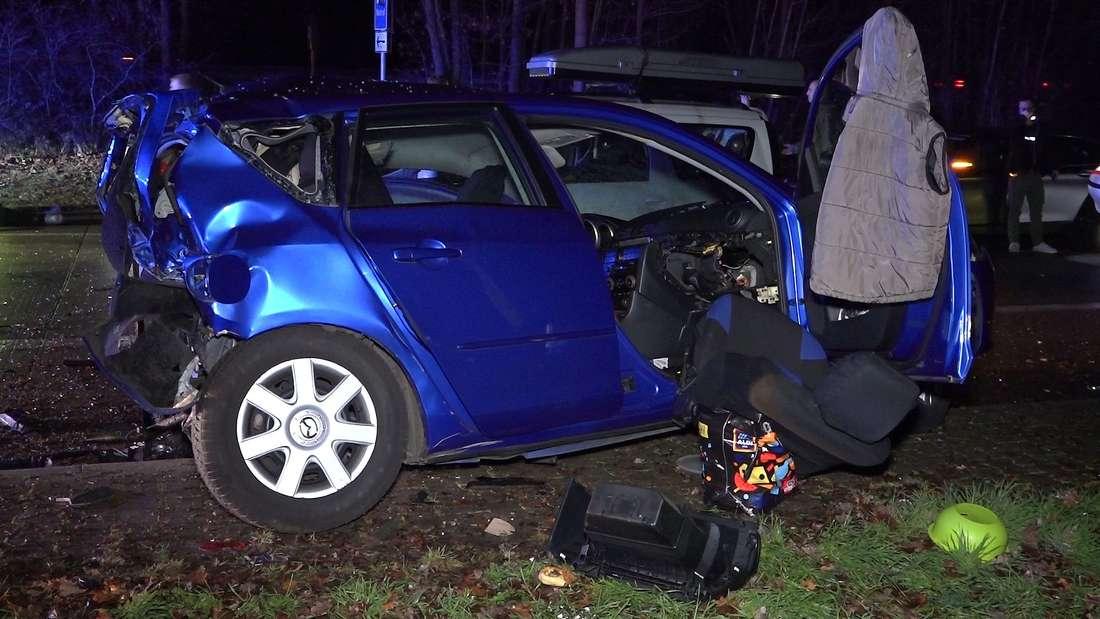 Unfall nach Verfolgungsjagd endet mit tödlichem Verkehrsunfall bei Hemsbach