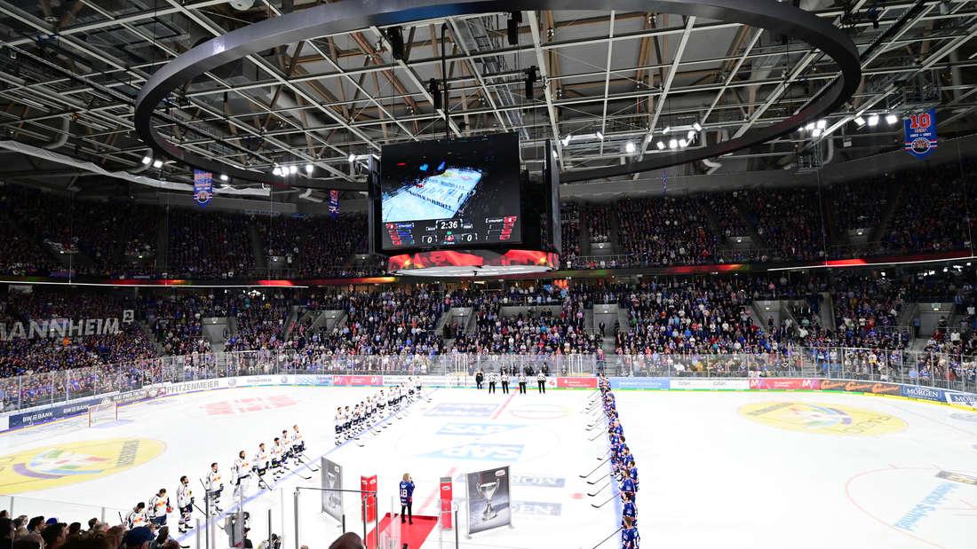 Die Adler Mannheim und der EHC Red Bull München bestreiten das Finale in den DEL-Playoffs 2019.