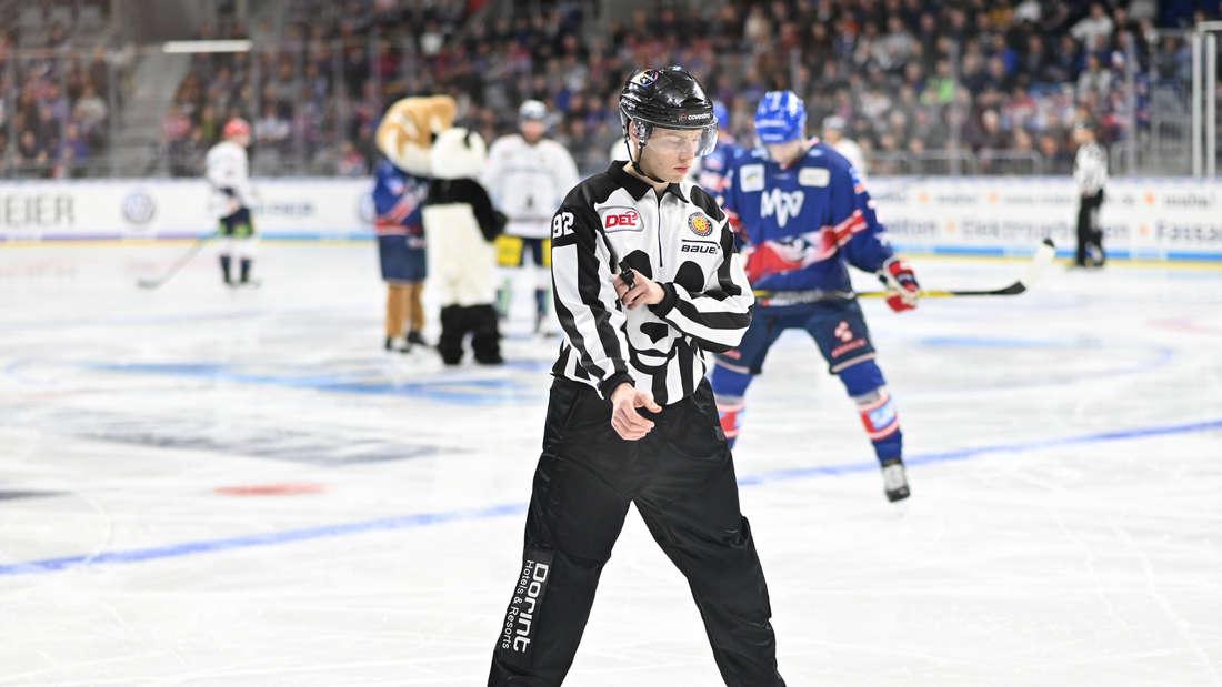 Adler Mannheim gewinnen deutlich gegen die Eisbären Berlin.