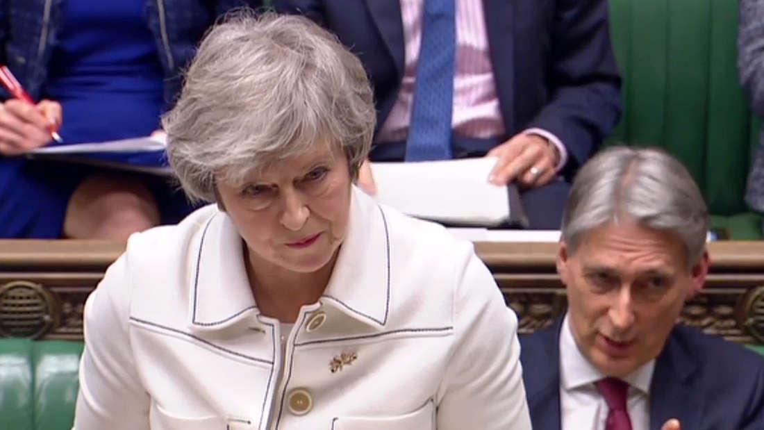 Die Brexit-Abstimmung könnte großen Einfluss auf Theresa Mays Zukunft als Premierministerin haben.