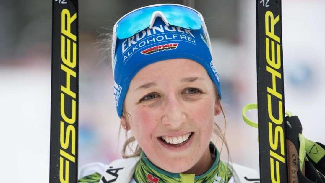 Fällt für den Weltcup in Antholz: Franziska Preuß. Foto: Sven Hoppe