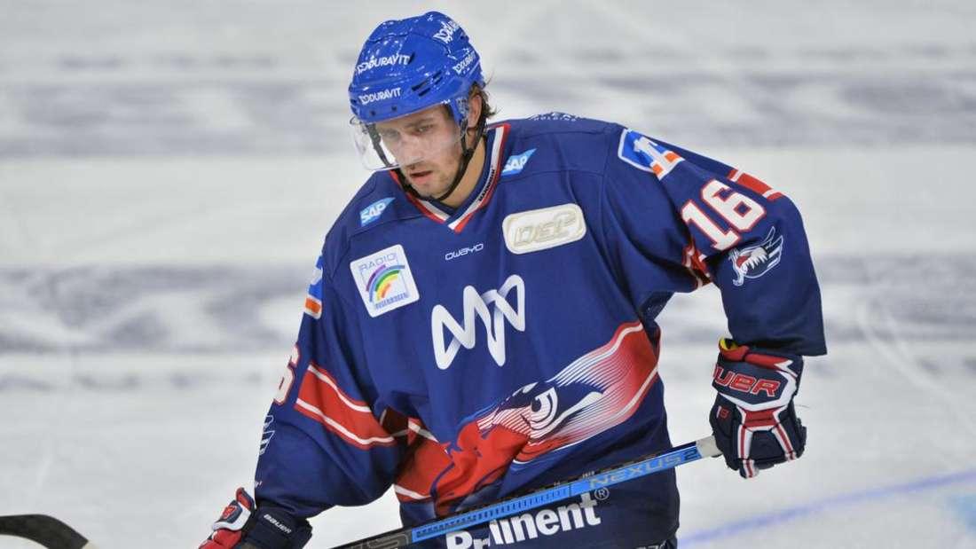 Markus Eisenschmid ist einer von insgesamt vier Spielern der Adler Mannheim, die für die anstehenden Länderspiele gegen die Schweiz im deutschen Kader stehen.