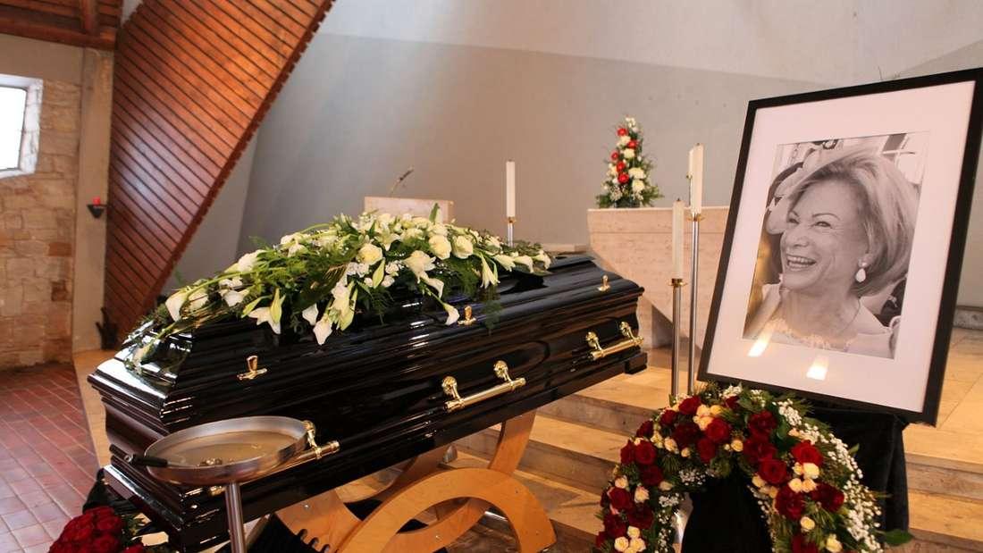 Angela Wepper beerdigt - so verabschiedeten sich Fritz und Elmar Wepper