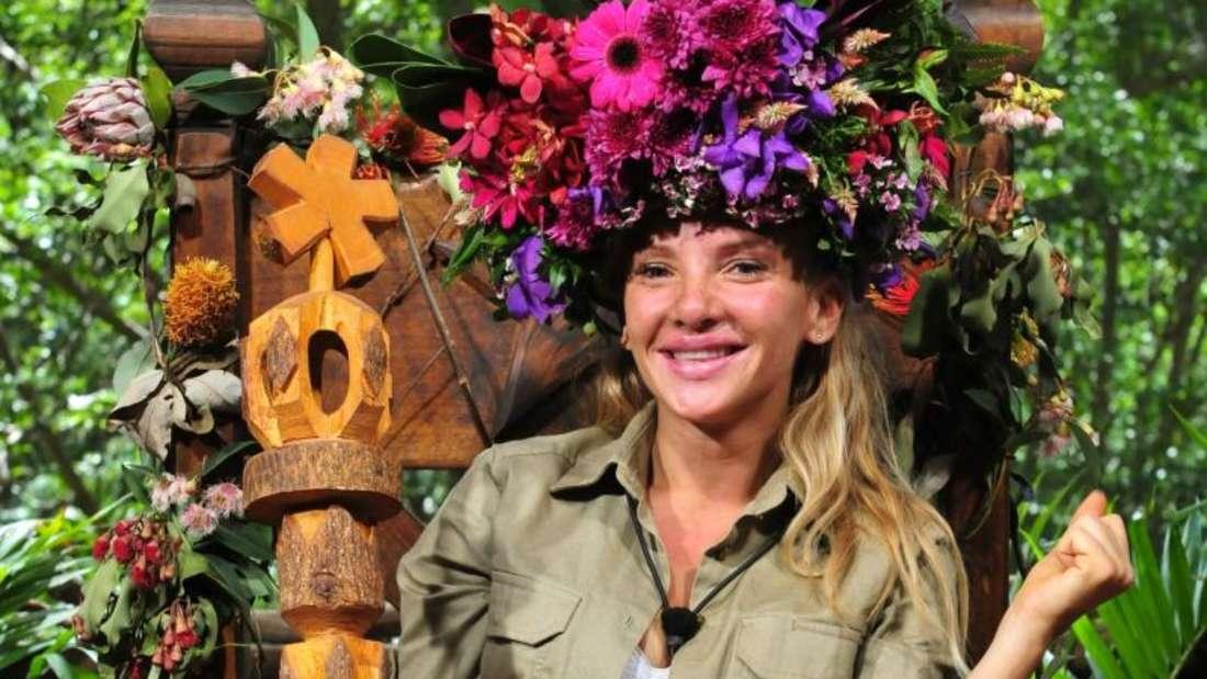 Evelyn Burdecki ist die Königin des Dschungels. Foto: RTL/TV NOW/Stefan Menne