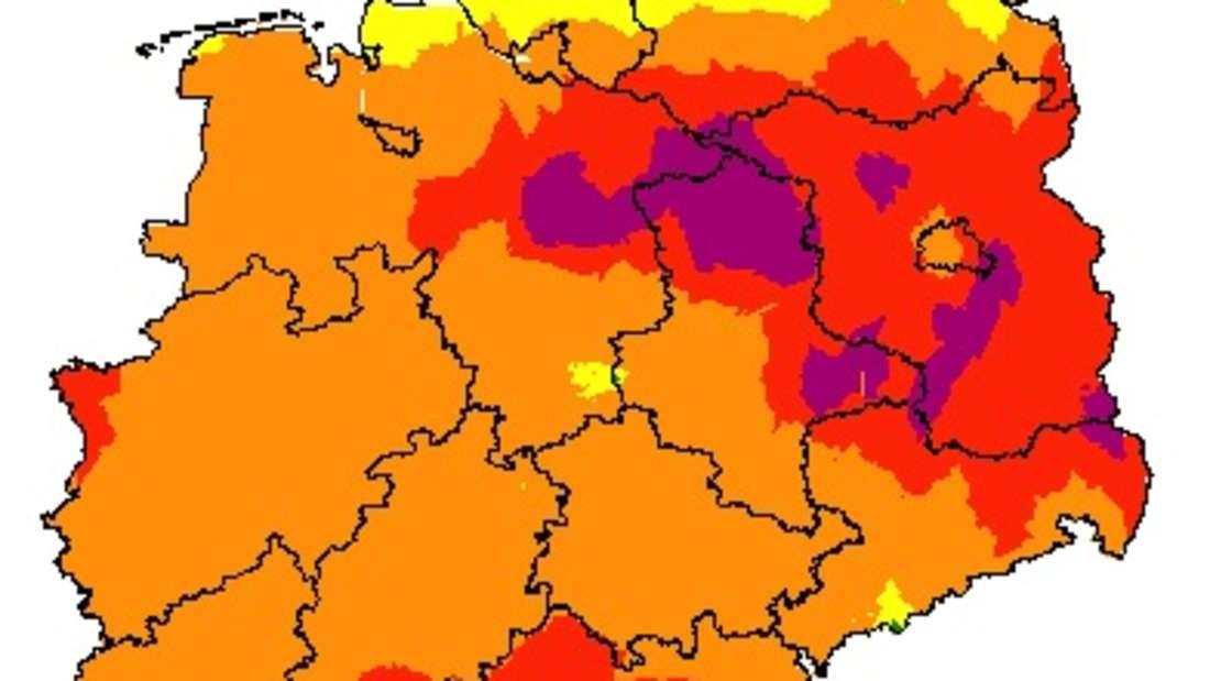 Für die nächsten Tage besteht eine hohe Waldbrandgefahr in der Region.