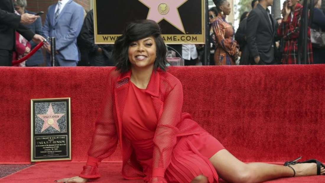 Taraji P. Henson hat auf dem Hollywood Walk of Fame einen Stern bekommen. Foto: Willy Sanjuan/Invision/AP