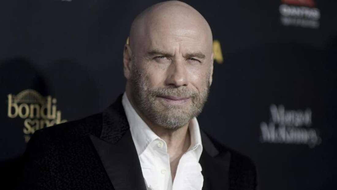 John Travolta gefällt sich auch ohne Haare. Foto: Richard Shotwell/Invision
