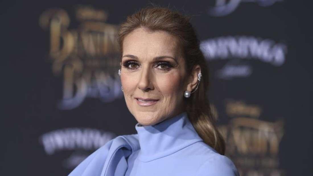 Celine Dion bei der Weltpremiere des Films «Beauty and the Beast». Foto: Jordan Strauss