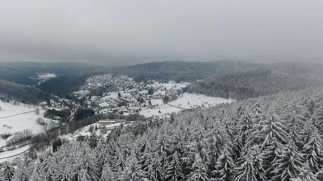 Wunderschöne Winterlandschaft in der Metropolregion Rhein-Neckar