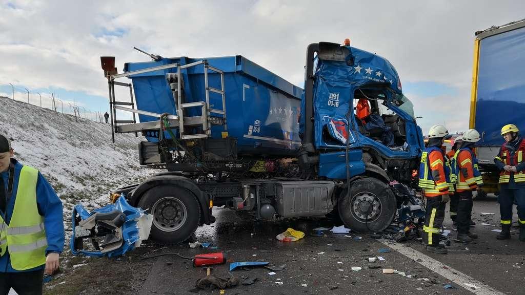 Unfall A6 Vollsperrung Aktuell